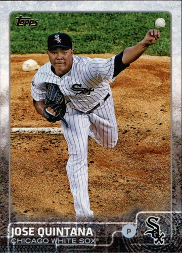 Photo of 2015 Topps #564 Jose Quintana