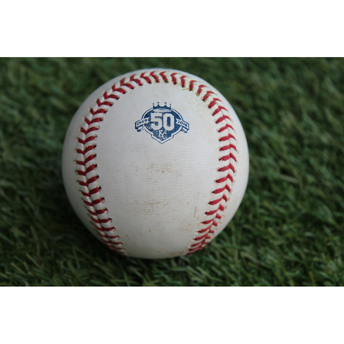 Photo of Game-Used Baseball: Jose Abreu 858th Career Hit (CWS @ KC - 9/10/18)