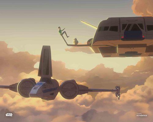 Kazuda Xiono and BB-8