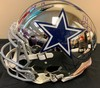 Cowboys Multi Signed Chrome Helmet - Including Pro Bowlers Dak Prescott, Amari Cooper, Ezekiel Elliot, Byron Jones