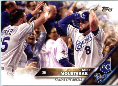 Photo of 2016 Topps #410A Mike Moustakas