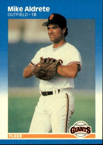 Photo of 1987 Fleer #264 Mike Aldrete