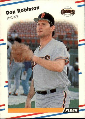 Photo of 1988 Fleer #95 Don Robinson