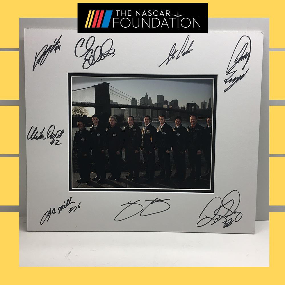 NASCAR's 2007 Autographed Champions Photo!