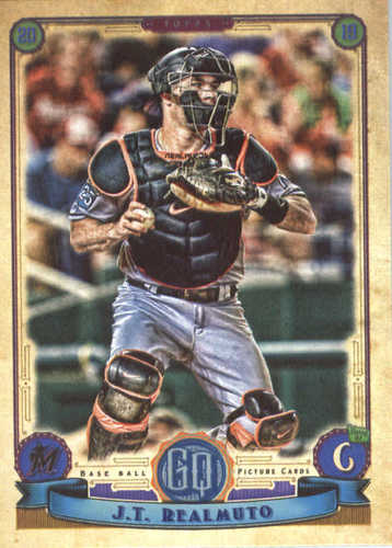 Photo of 2019 Topps Gypsy Queen #95 J.T. Realmuto