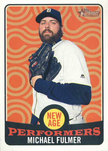 Photo of 2017 Topps Heritage New Age Performers #NAP21 Michael Fulmer