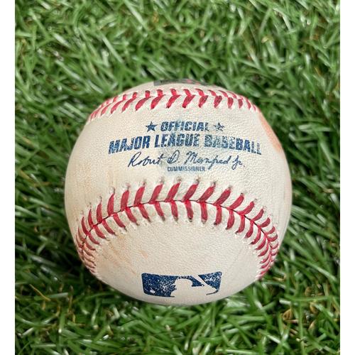 Photo of Game Used Baseball: Mike Zunino RBI (Randy Arozarena Scores) single off Sam Clay - Bottom 5 - June 8, 2021 v WSH