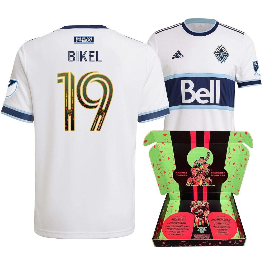 Janio Bikel Vancouver Whitecaps FC Match-Used & Signed