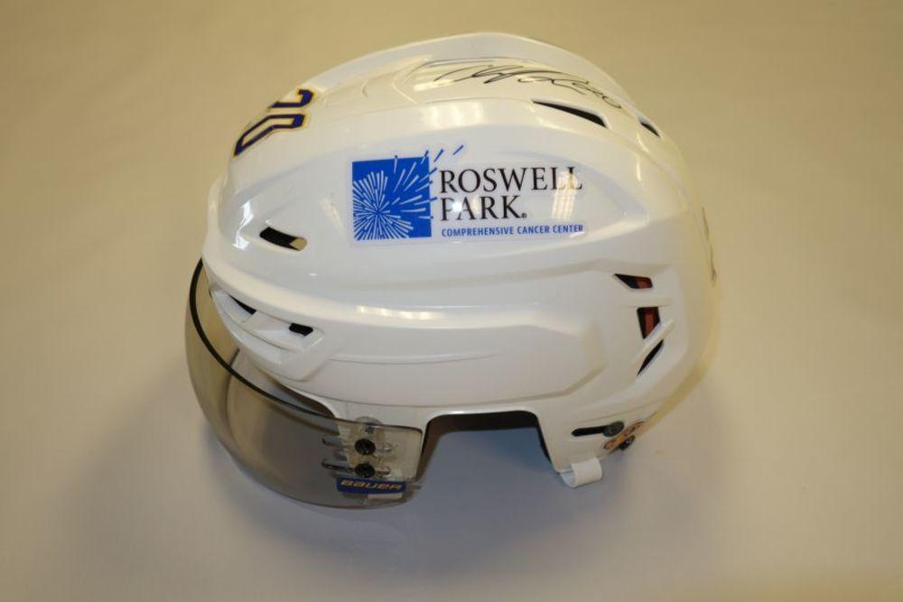 Cody Eakin 2020-21 Autographed Game-Used Helmet
