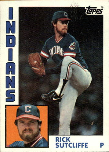 Photo of 1984 Topps #245 Rick Sutcliffe
