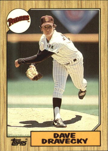 Photo of 1987 Topps Tiffany #470 Dave Dravecky