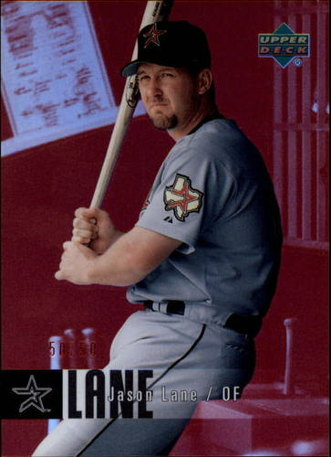 Photo of 2006 Upper Deck Special F/X Red #211 Jason Lane /50