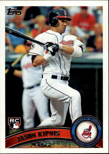 Photo of 2011 Topps Update #US194 Jason Kipnis Rookie Card