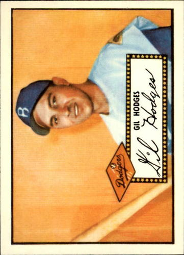 Photo of 1983 Topps 1952 Reprint #36 Gil Hodges