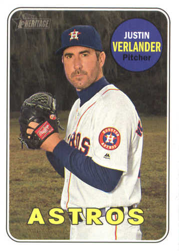 Photo of 2018 Topps Heritage #58 Justin Verlander