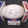 NFL - Lions T.J. Lang signed panel ball