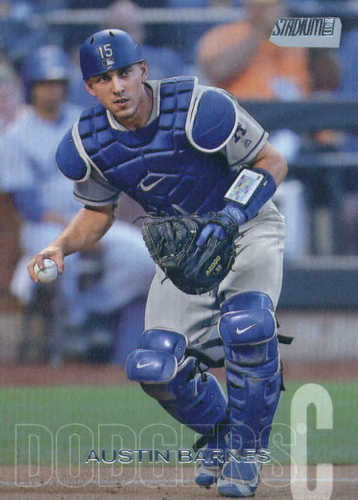 Photo of 2018 Stadium Club #106 Austin Barnes