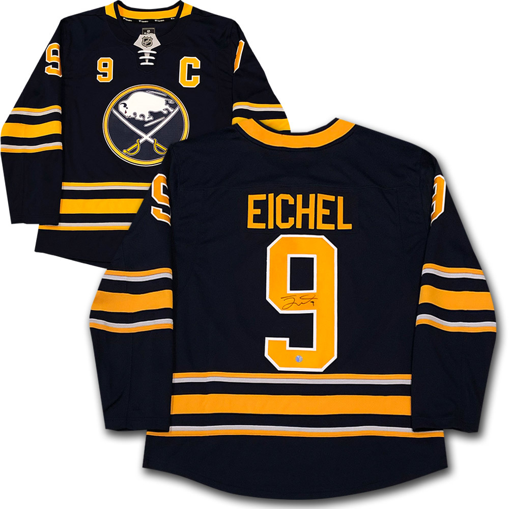 new products e61b9 ea55b Jack Eichel Autographed Buffalo Sabres Fanatics Jersey - NHL ...