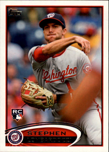 Photo of 2012 Topps #134 Stephen Lombardozzi RC