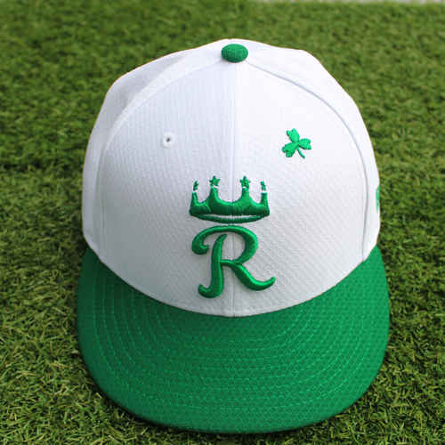 Photo of Team-Issued St. Patrick's Day Cap: Brian Goodwin (Size 7 1/2)