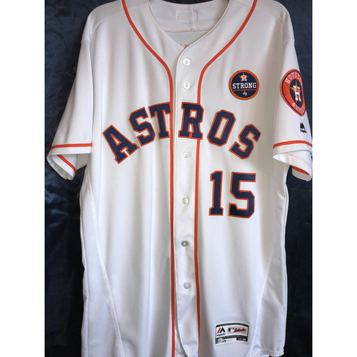 2017 Team-Issued Carlos Beltran Home Jersey (Size 46)