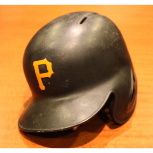 2019 Game Used Helmet - Starling Marte - Size 7 1/8