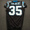 Crucial Catch - Panthers Mike Tolbert Signed and Game Issued Jersey Size 44