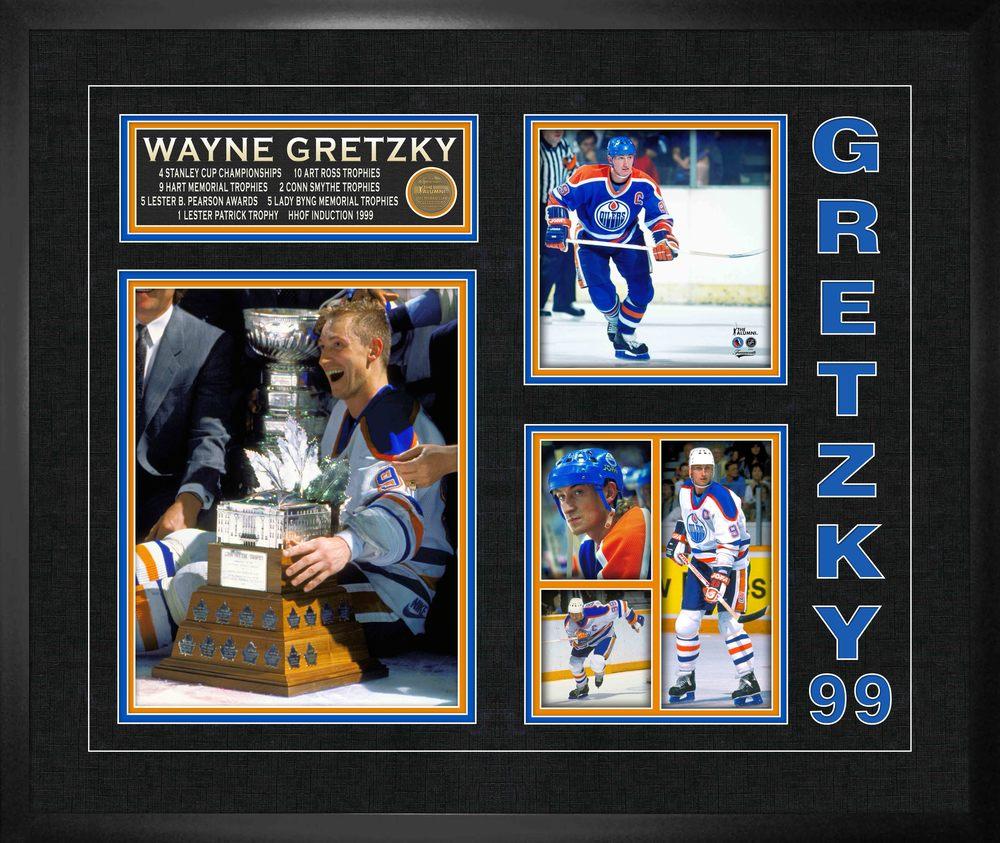 Wayne Gretzky 20x24 Photo Collage Frame Oilers