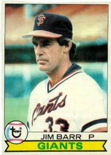 Photo of 1979 Topps #461 Jim Barr DP