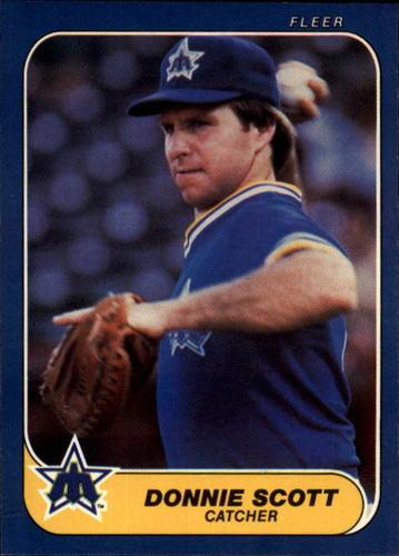 Photo of 1986 Fleer #474 Donnie Scott