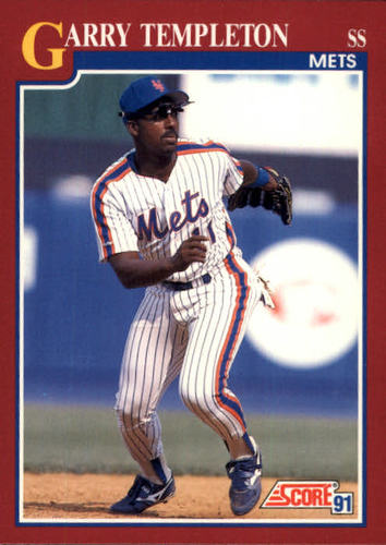 Photo of 1991 Score Rookie/Traded #38T Garry Templeton