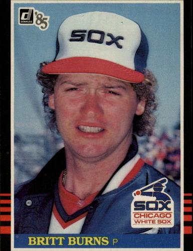 Photo of 1985 Donruss #257 Britt Burns
