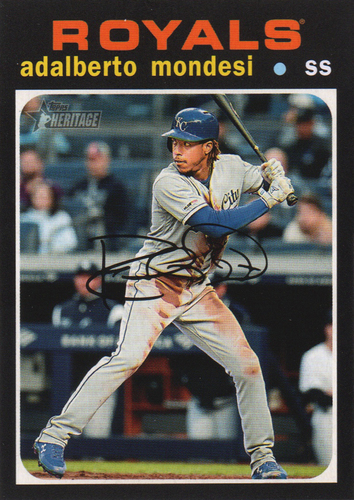 Photo of 2020 Topps Heritage #103 Adalberto Mondesi