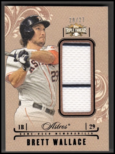 Photo of 2014 Topps Triple Threads Unity Relics Sepia #UJRBW Brett Wallace