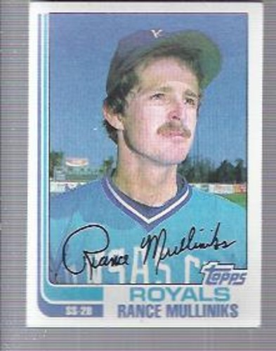 Photo of 1982 Topps #104 Rance Mulliniks