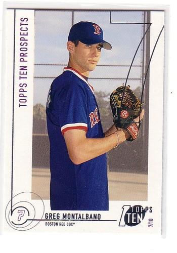 Photo of 2002 Topps Ten #197 Greg Montalbano PROS RC