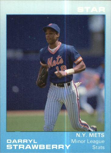 Photo of 1988 Star Strawberry Glossy #2 Darryl Strawberry/Minor League Stats