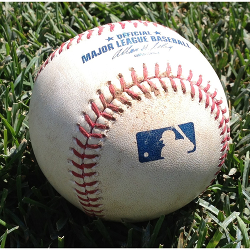 Baseballs: 2016 NL East Clinch