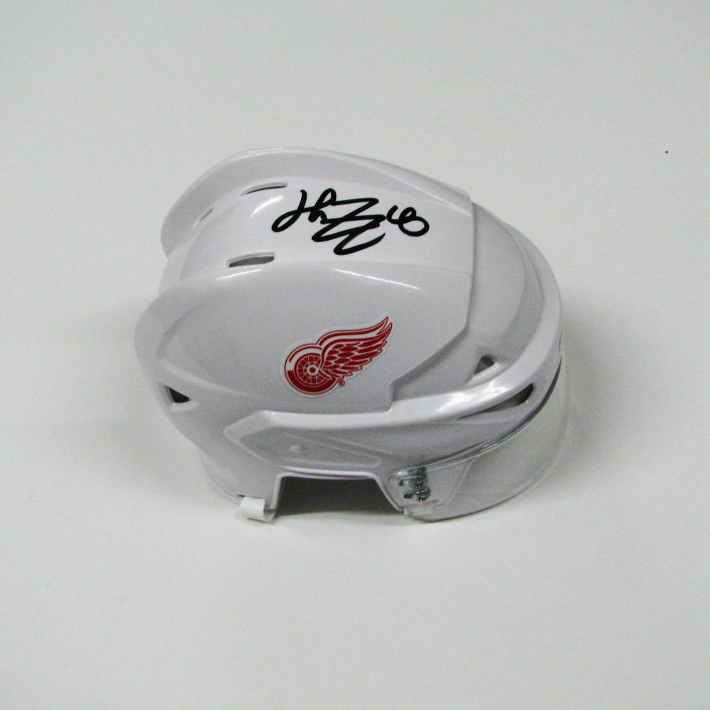 HENRIK ZETTERBERG Signed Detroit Red Wings Mini Helmet