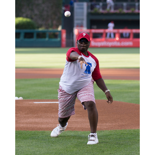 Throw a Ceremonial First Pitch at Citizens Bank Park