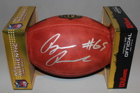 NFL - SAINTS RYAN RAMCZYK SIGNED AUTHENTIC FOOTBALL