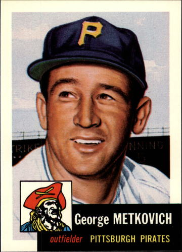 Photo of 1991 Topps Archives 1953 #58 George Metkovich