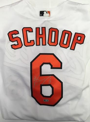 Photo of Jonathan Schoop Autographed Authentic Orioles Jersey