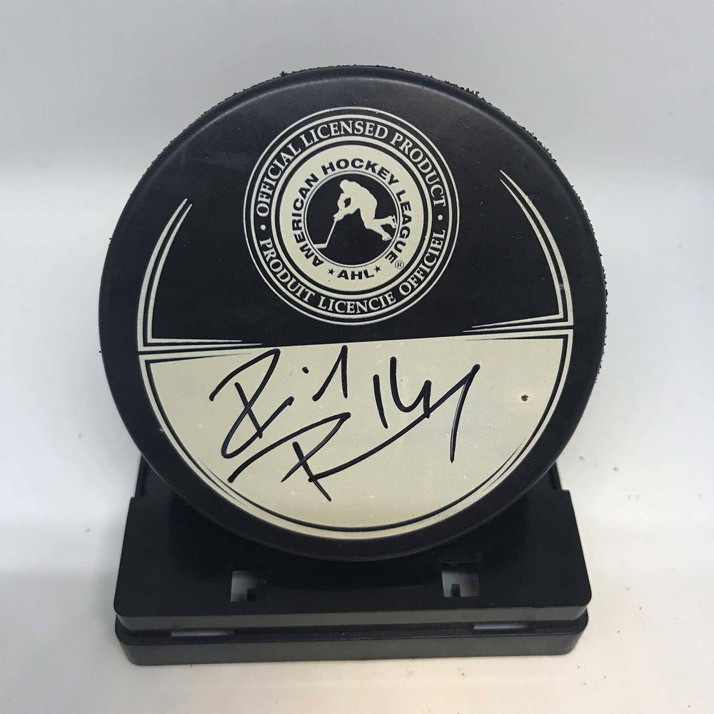 2013 Dunkin' Donuts AHL All-Star Classic Souvenir Puck Signed by #14 Richard Panik