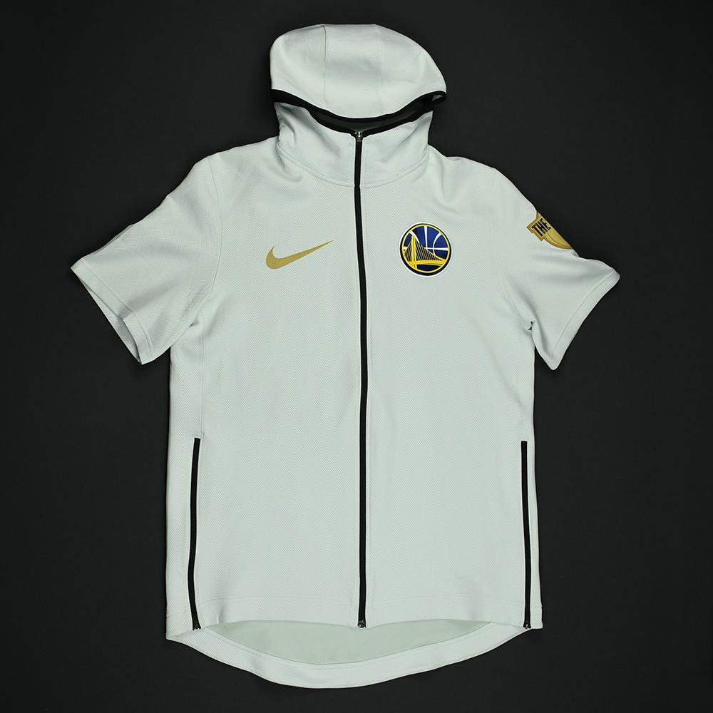 171a53652 Damian Jones - Golden State Warriors - 2018 NBA Finals - Game-Issued Hooded  Warmup