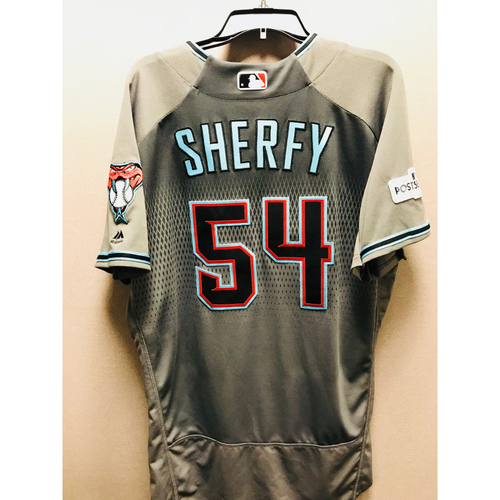 Photo of 2017 Game-Used NLDS Jimmie Sherfy Jersey