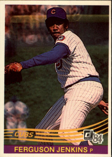 Photo of 1984 Donruss #189 Ferguson Jenkins