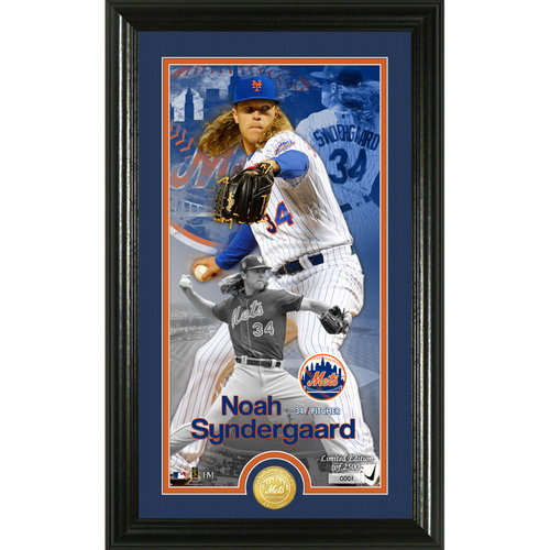 Photo of Serial #1! Noah Syndergaard Supreme Bronze Coin Photo Mint
