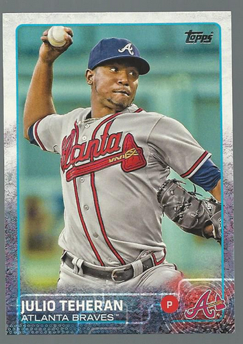 Photo of 2015 Topps #36 Julio Teheran