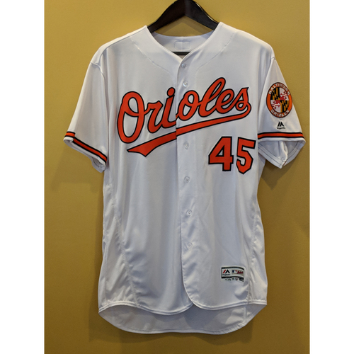 Photo of Mark Trumbo - Home Jersey: Team-Issued (50)
